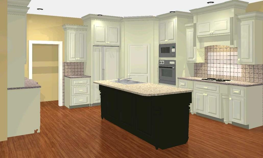 French Country style, CAD drawing,kitchen design ideas,before and after