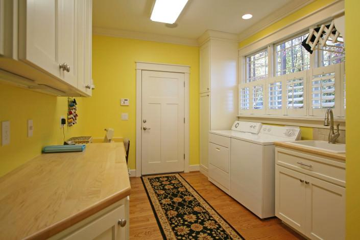 Laundry room,sewing room,storage,drop zone,wood countertops
