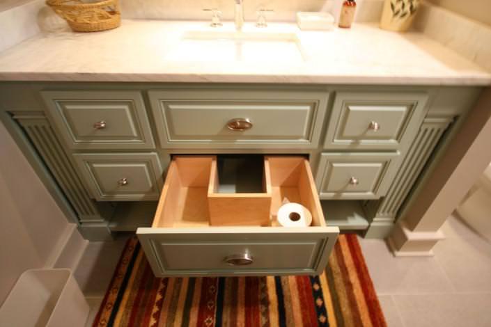 custom storage,bathroom storage,bathroom ideas,toilet paper holder