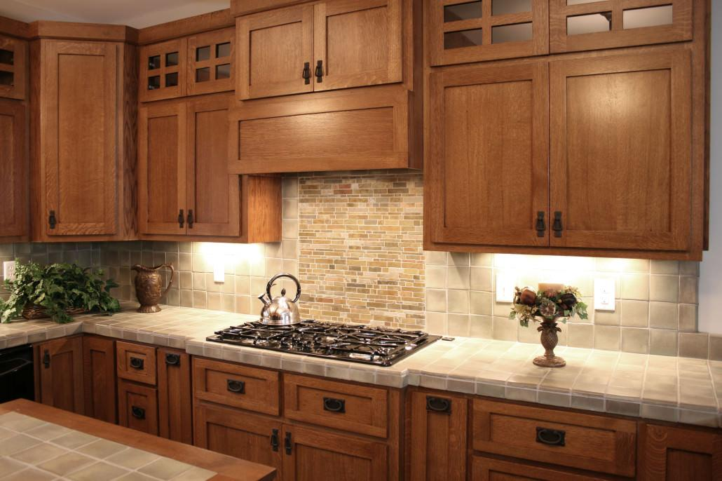 craftsman style cabinetry 736