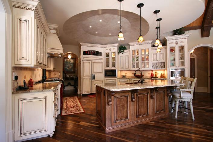 kitchen,island,prep sink,two toned kitchen,french country,ideas