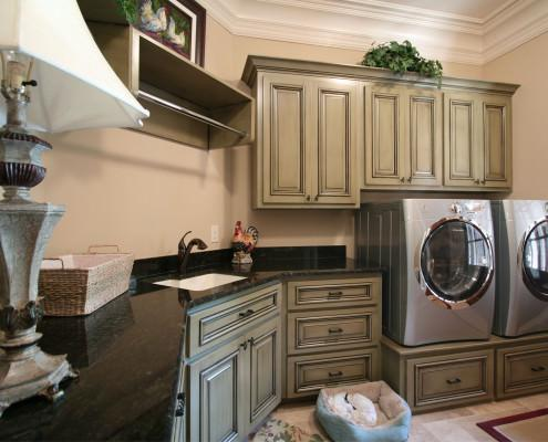 Laundry room,washer and dryer,folding area,traditional,ideas