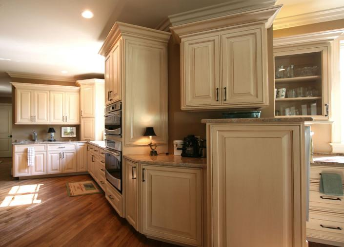 dry brushing technique, large space, custom, kitchen ideas