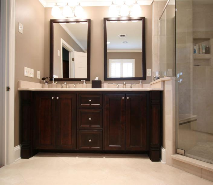 his and hers double vanity