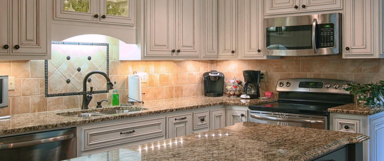 Before and after, After photo, kitchen,island,glass cabinet doors,two toned cabinets,ideas