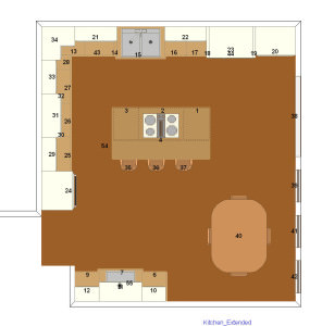 before and after, Floor Plan AFTER