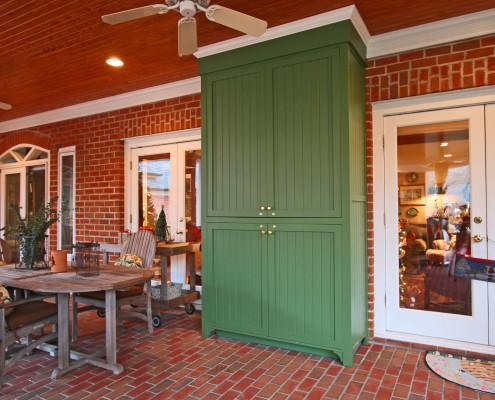 speciality area,outdoor cabinets,media center,custom storage