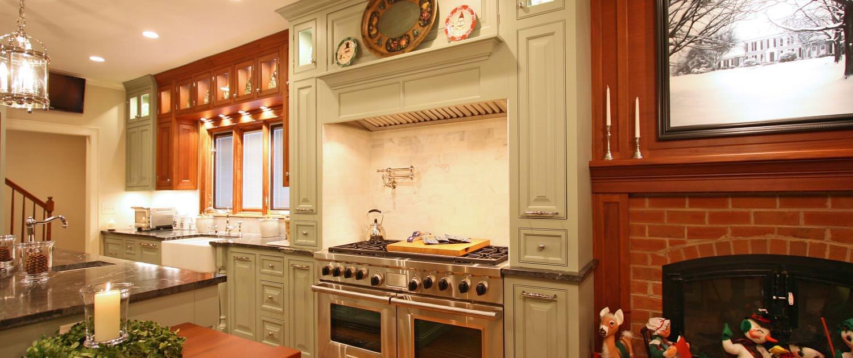 kitchen,decorative details,double oven,painted cabinets,pot filler