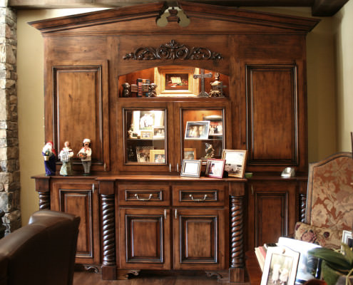 speciality areas,decorative details, display shelves,display cabinets,storage,traditional