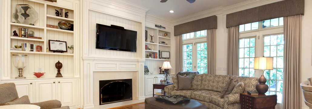 Classic Home, Classic style cabinets,custom fireplace,mantle,beadboard,display shelves,classic style,ideas