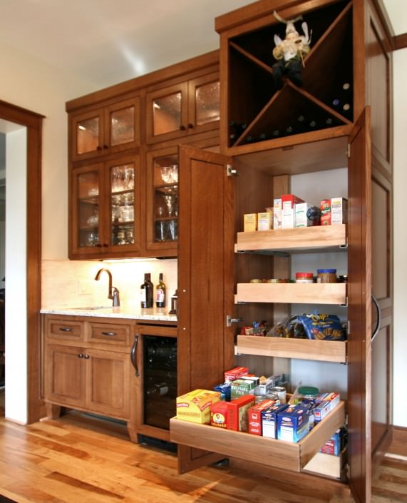 kitchen cabinets in stock butler pantry and pantries walker woodworking 6151