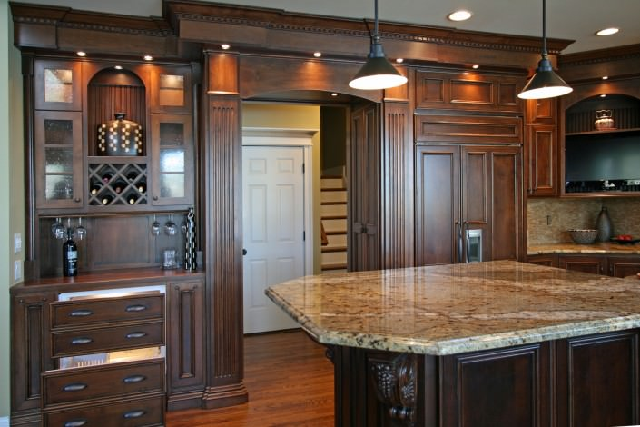 Cabinets traditional style