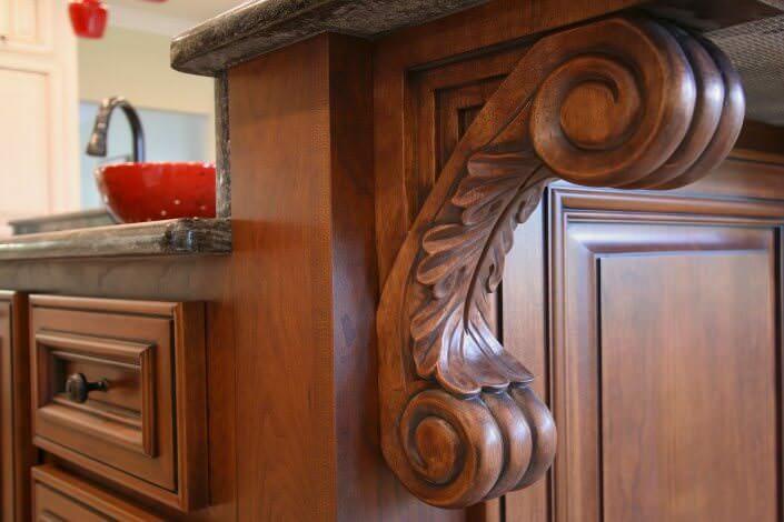 Decorative Cabinet Details | Walker Woodworking