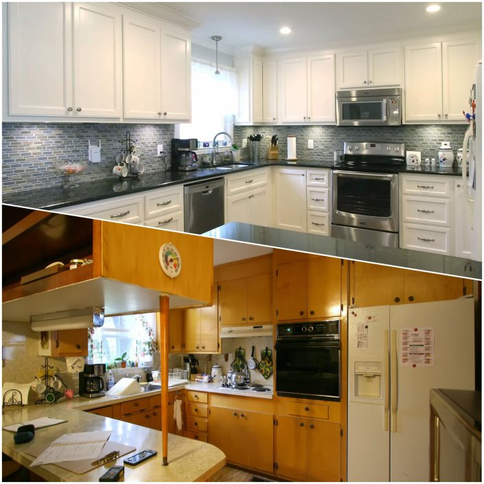 Remodeled Kitchens With White Cabinets: Kitchen Remodel White Cabinets