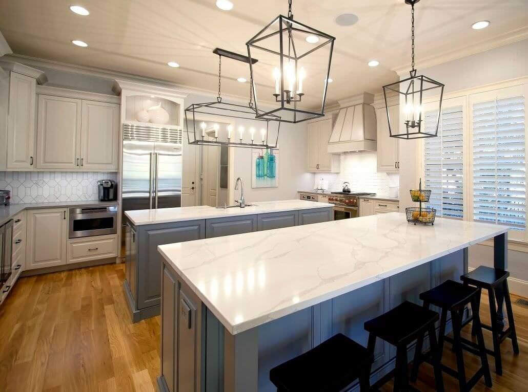 Built In Kitchen Appliances >> Transitional Renovation | Walker Woodworking