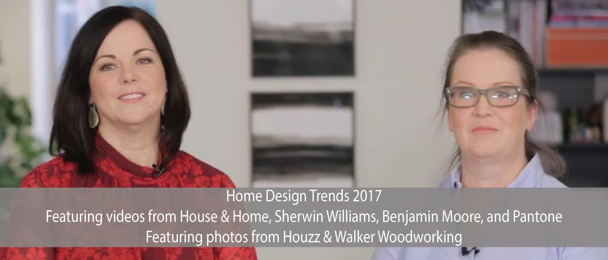 Home Design Trends 2017 Walker Woodworking