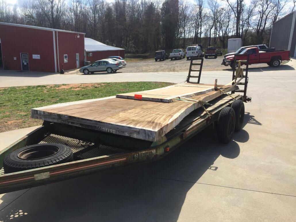 Slabs- trailer