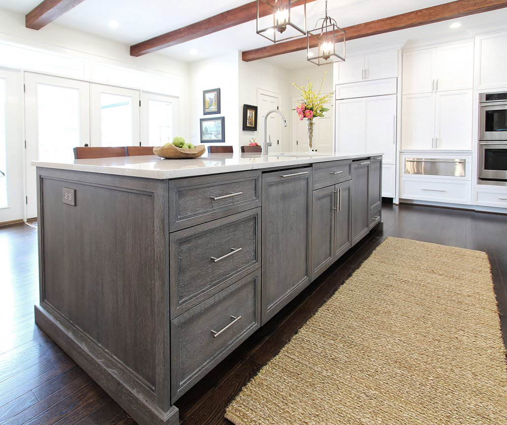 white island kitchen the comeback of oak walker woodworking 1030