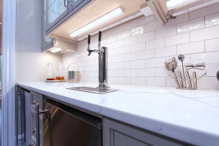 Stylish Kitchen Remodel Walker Woodworking