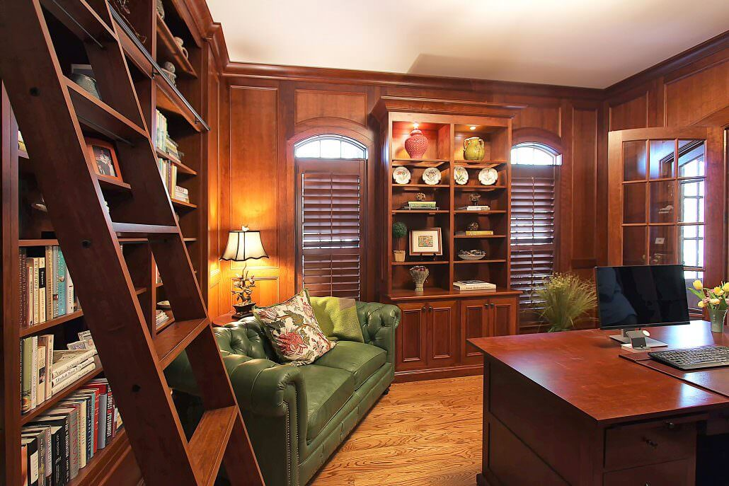 Cabinets For Office And Study By Walker Woodworking