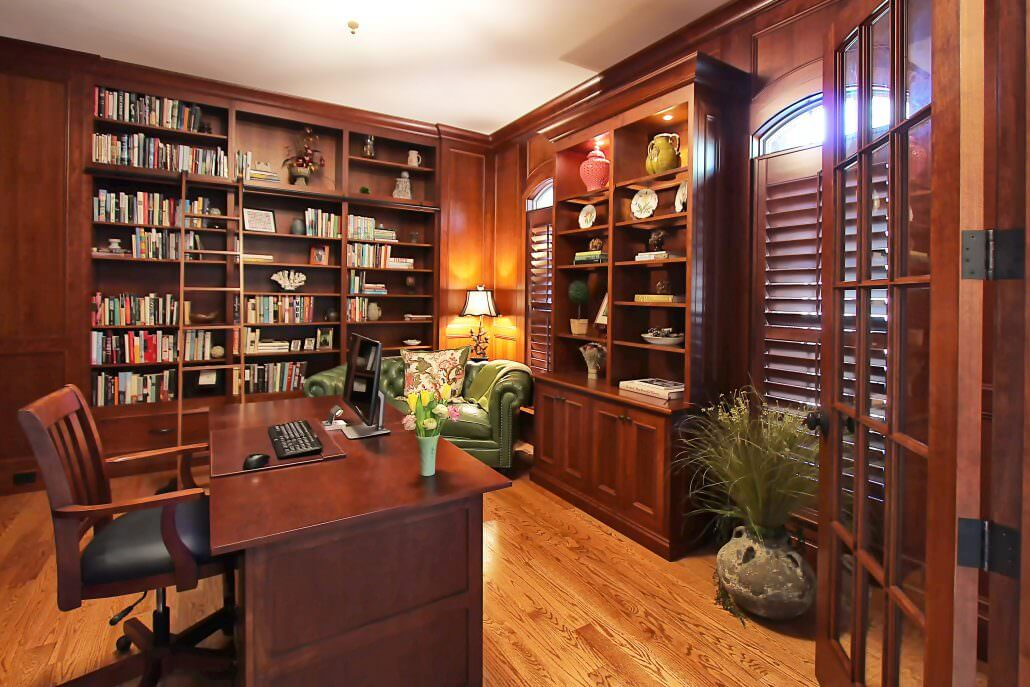 home office study. Walker Woodworking Offers Several Home Office Ideas To Inspire And Motivate You. We Have A Library Of Many Designs You Will Be Sure Like. Study